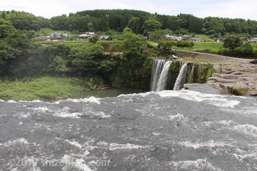 原尻の滝上部