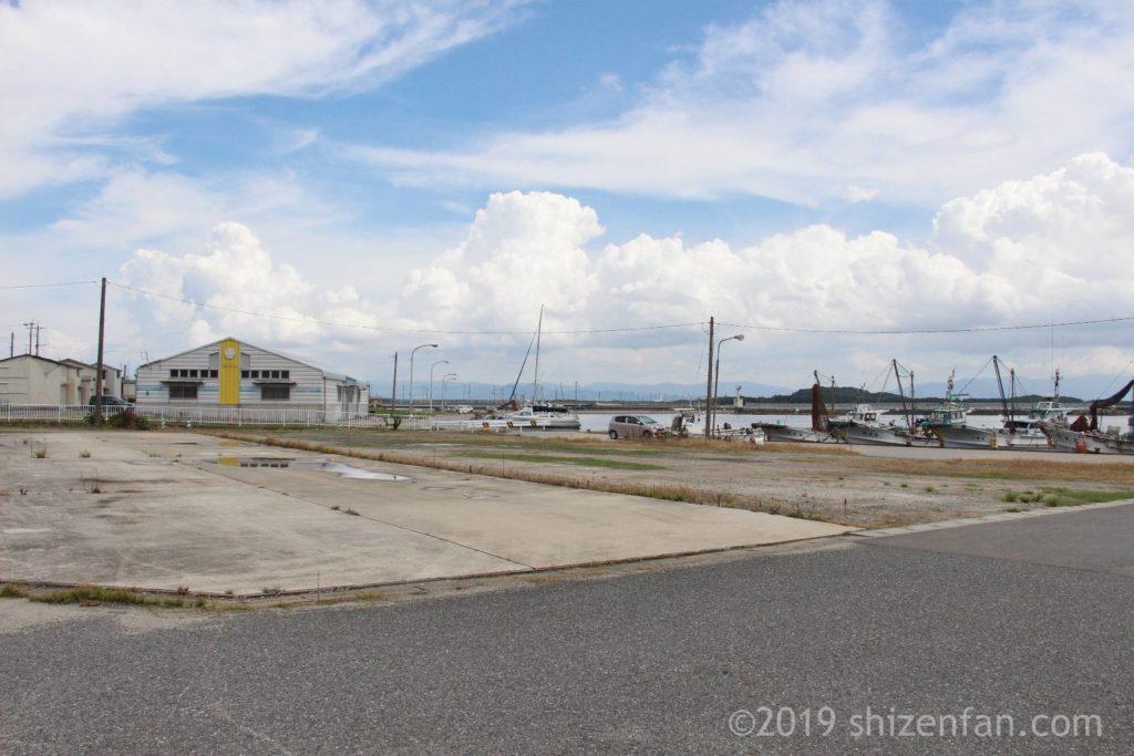 志賀島の漁港全景イメージ