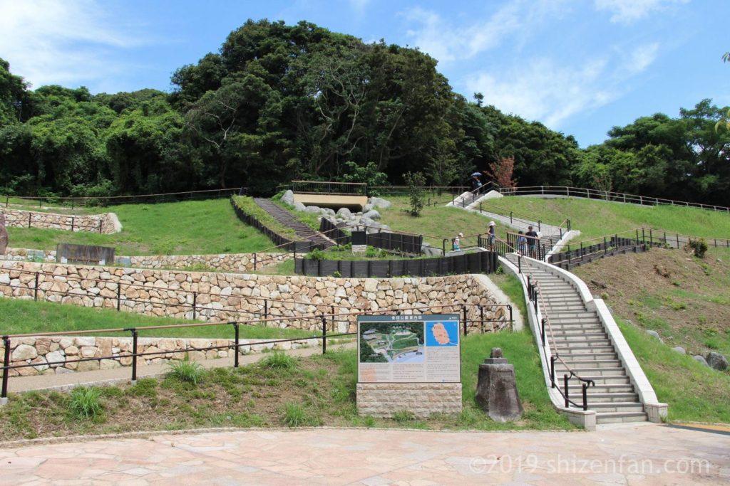 志賀島金印公園全景