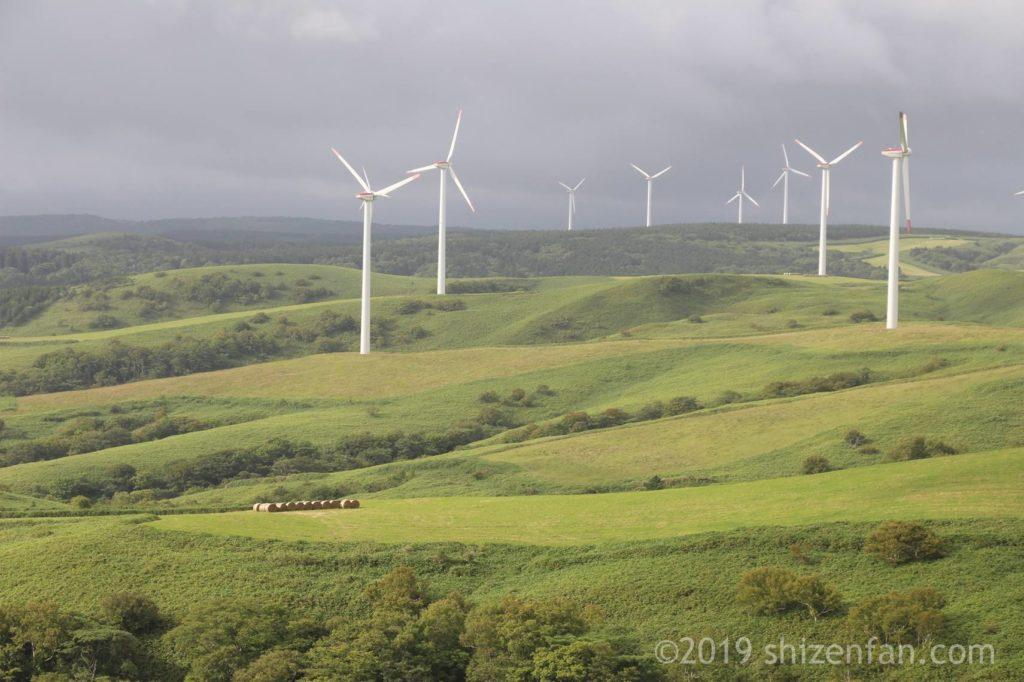 宗谷丘陵の風力発電基