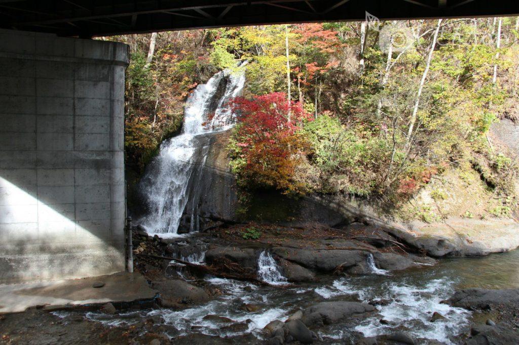 恵庭渓谷 三段の滝
