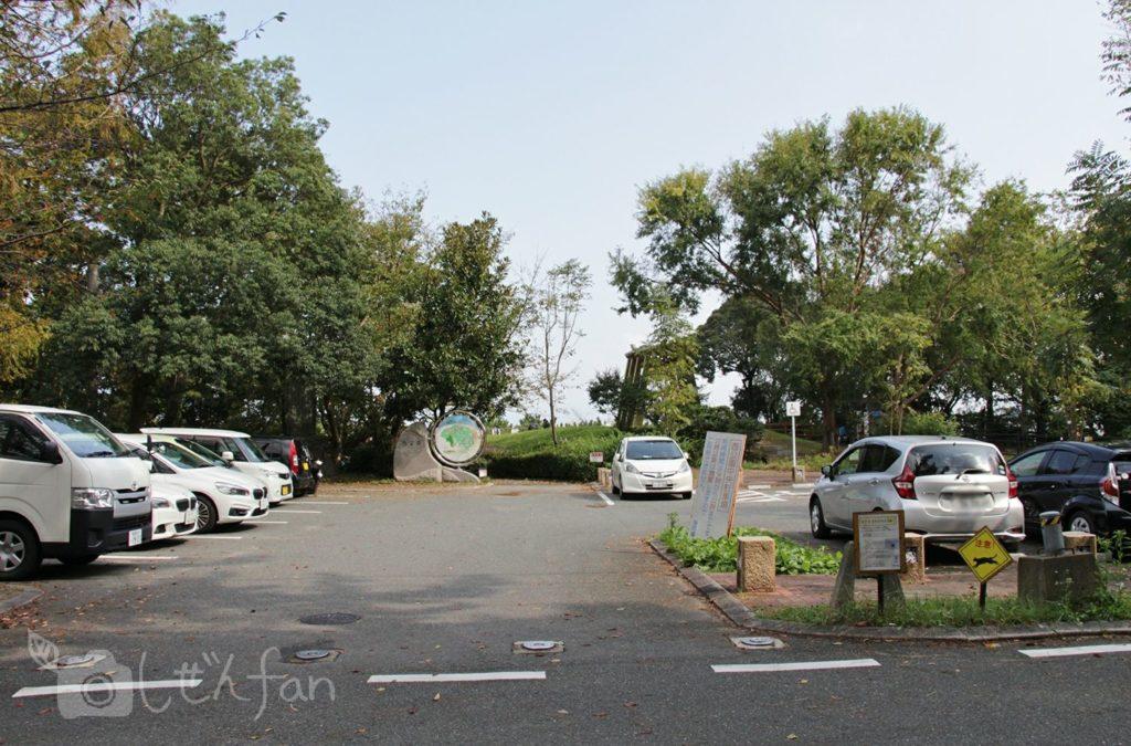 福岡西公園 中央駐車場
