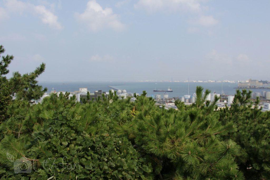 福岡西公園 中央展望広場からの眺め