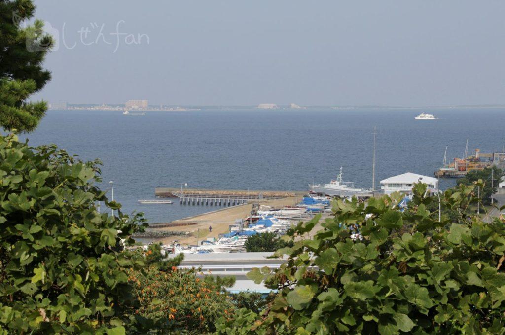 福岡西公園 西側展望広場からの眺め