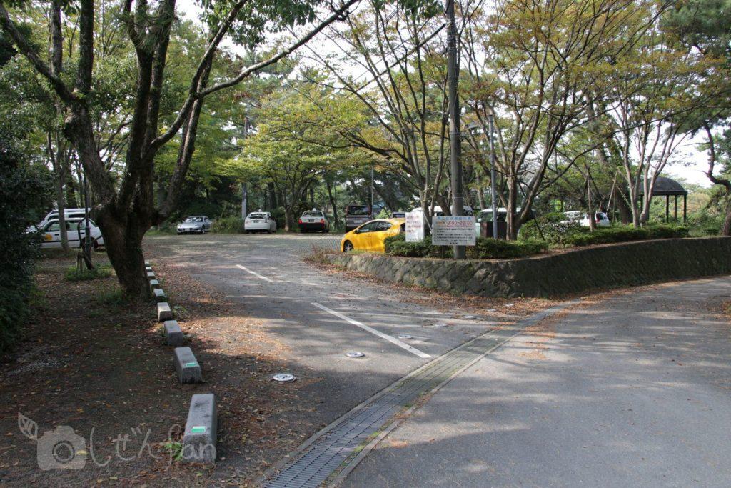 福岡西公園 西側駐車場
