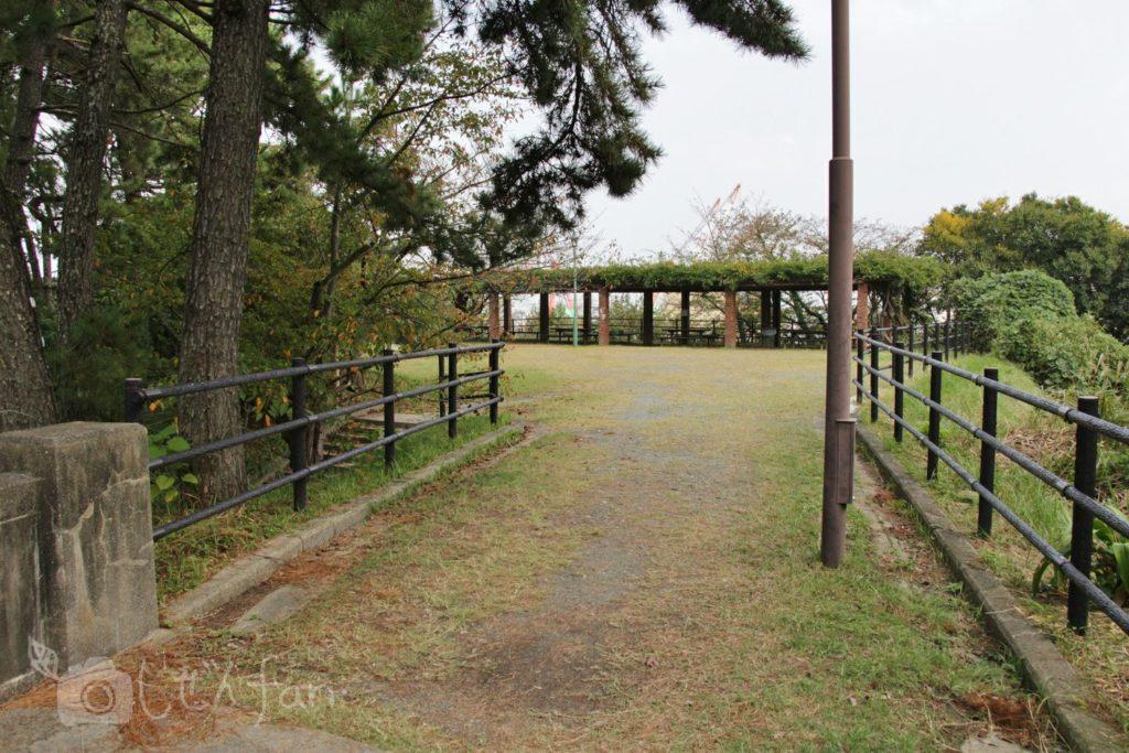 福岡西公園 東側展望台