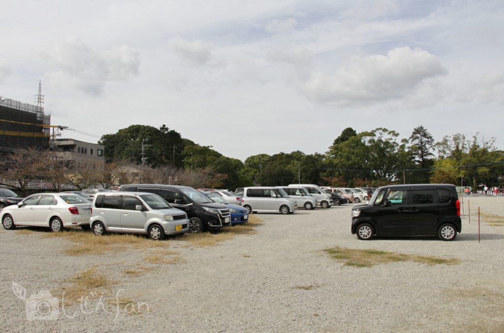 香椎宮駐車場