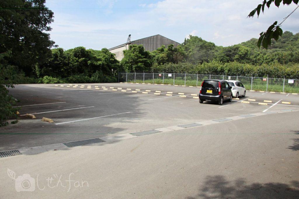 篠栗九大の森、北駐車場