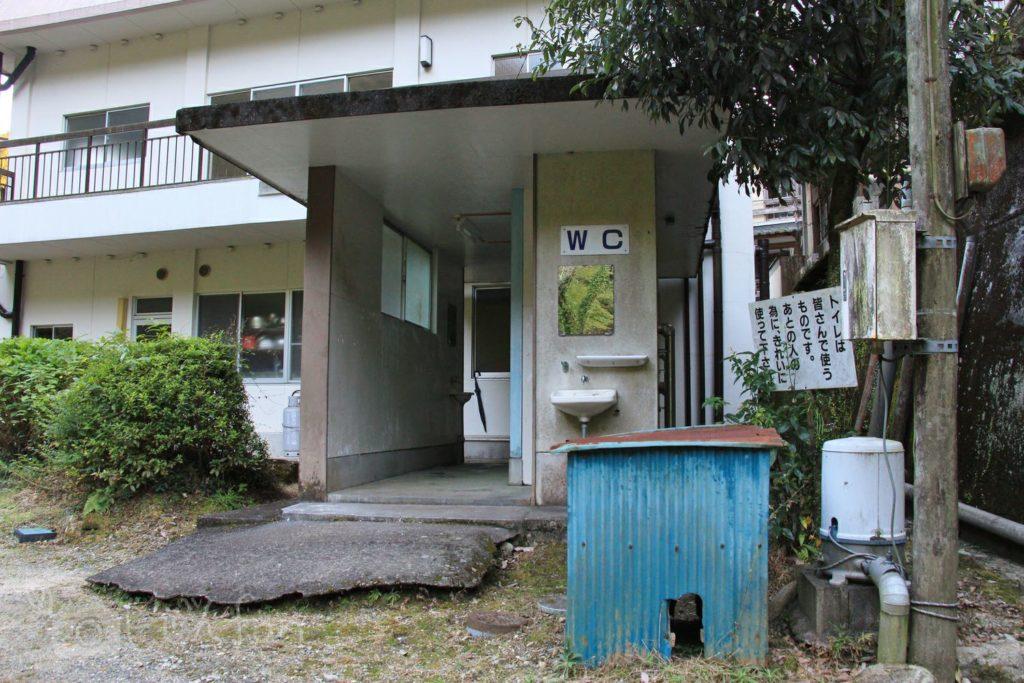 佐賀・清水の滝トイレの外観