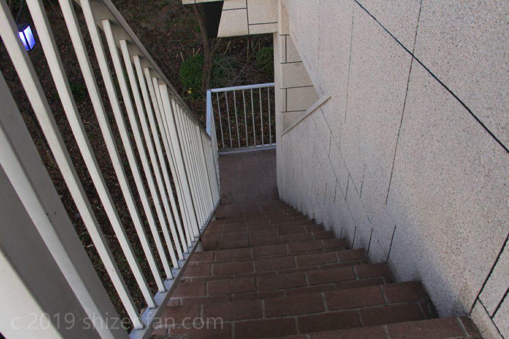 佐賀県小城市 千葉公園展望台の階段