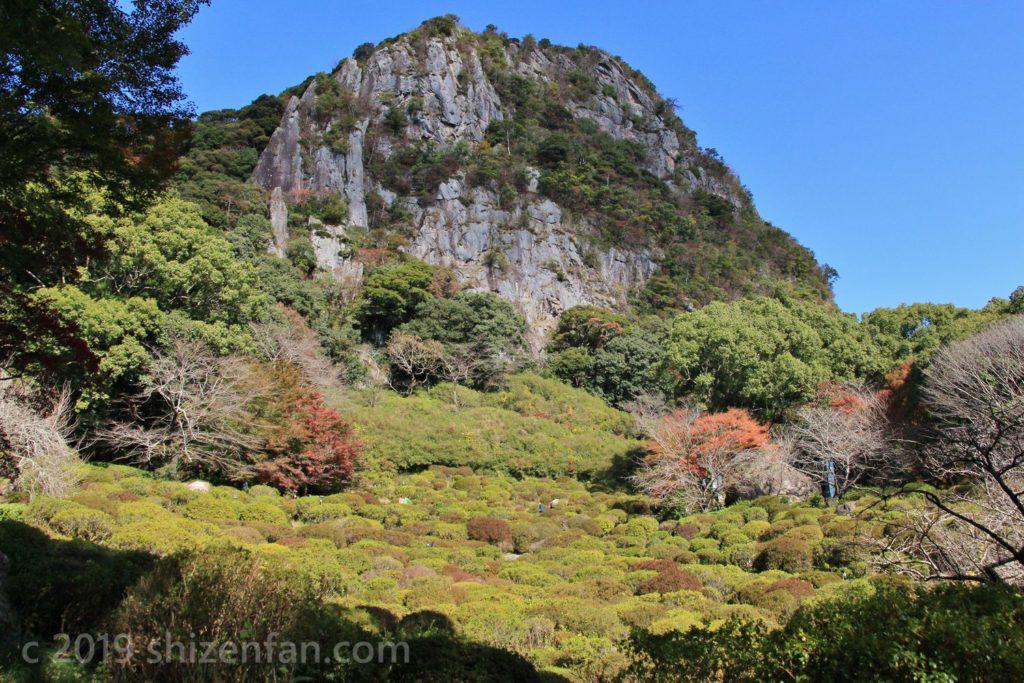 武雄・御船山楽園のツツジ谷と御船山