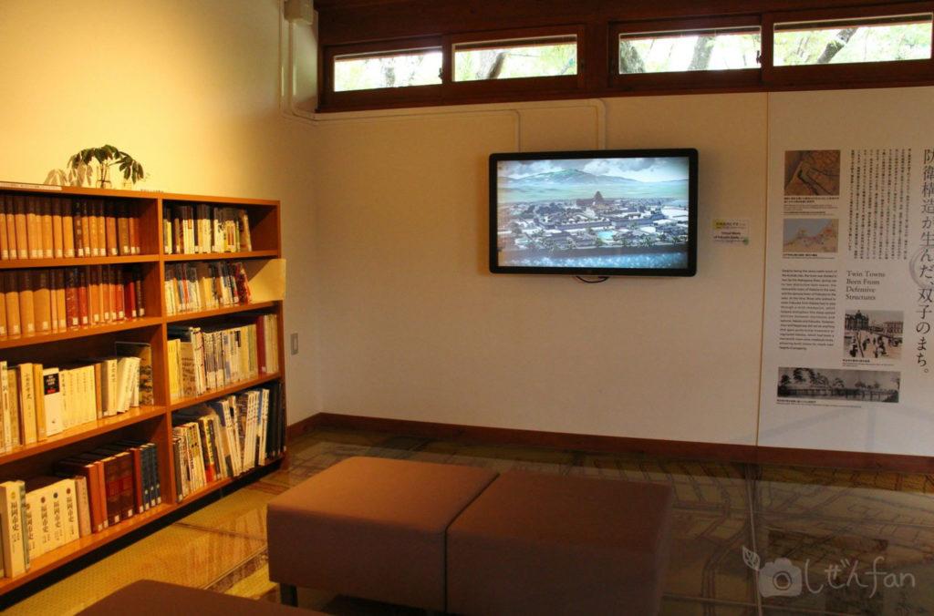 舞鶴公園 福岡城むかし探訪館内の様子