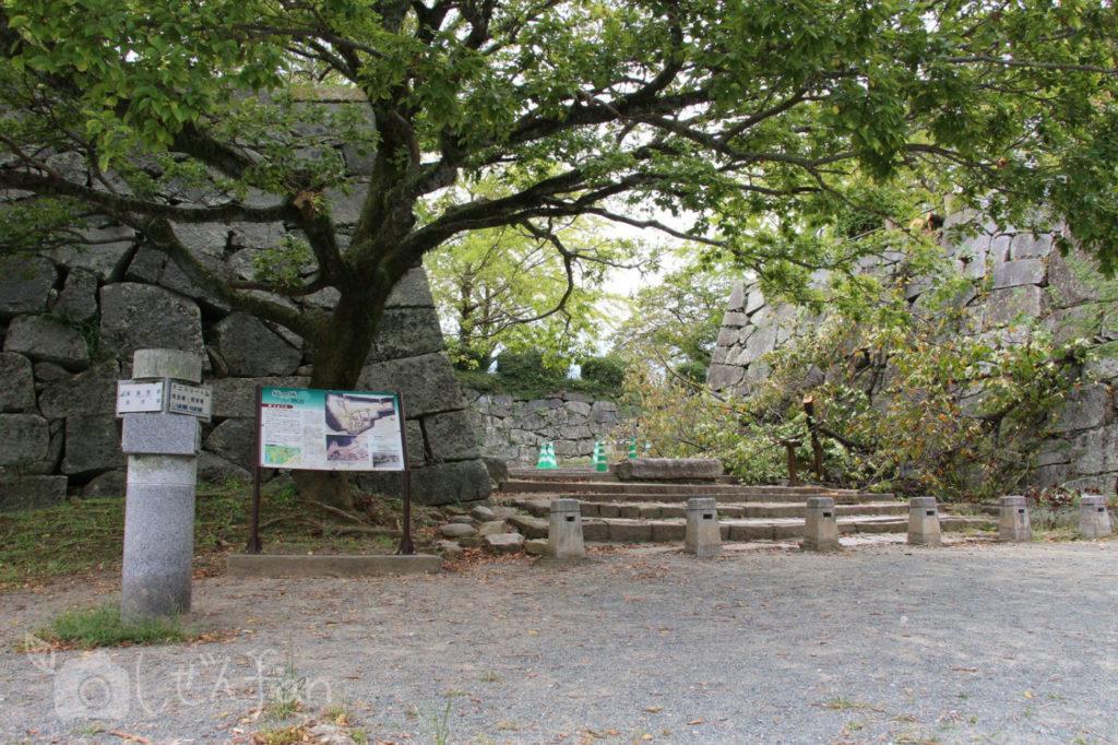 福岡城址・東御門跡