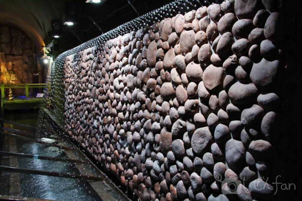 高森湧水トンネル公園のウォーターパール