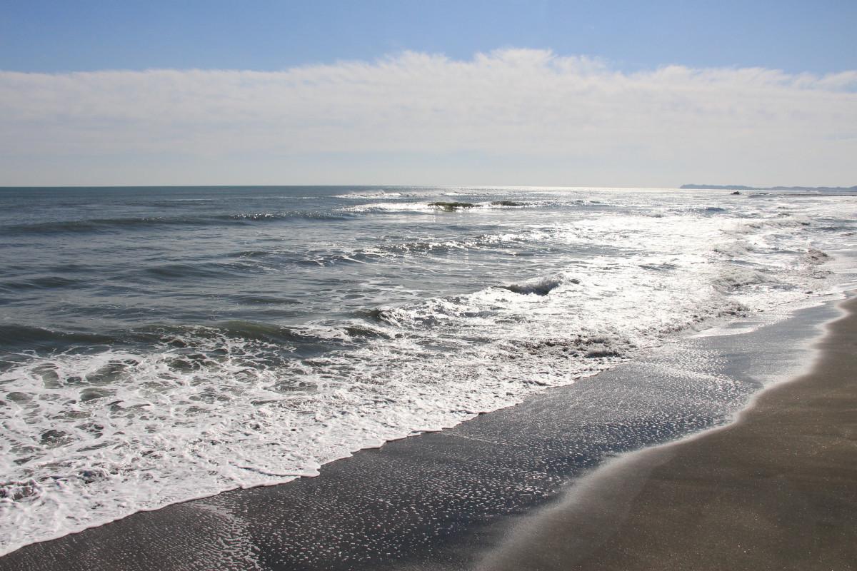 九十九里浜(一松海岸)