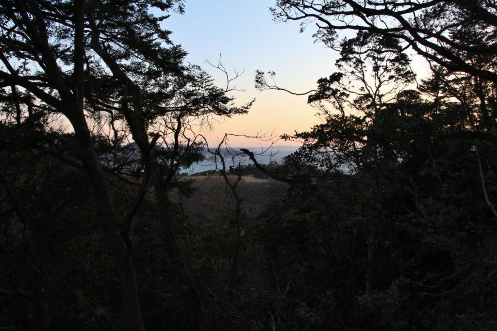 鋸山観光道路駐車場からの眺望