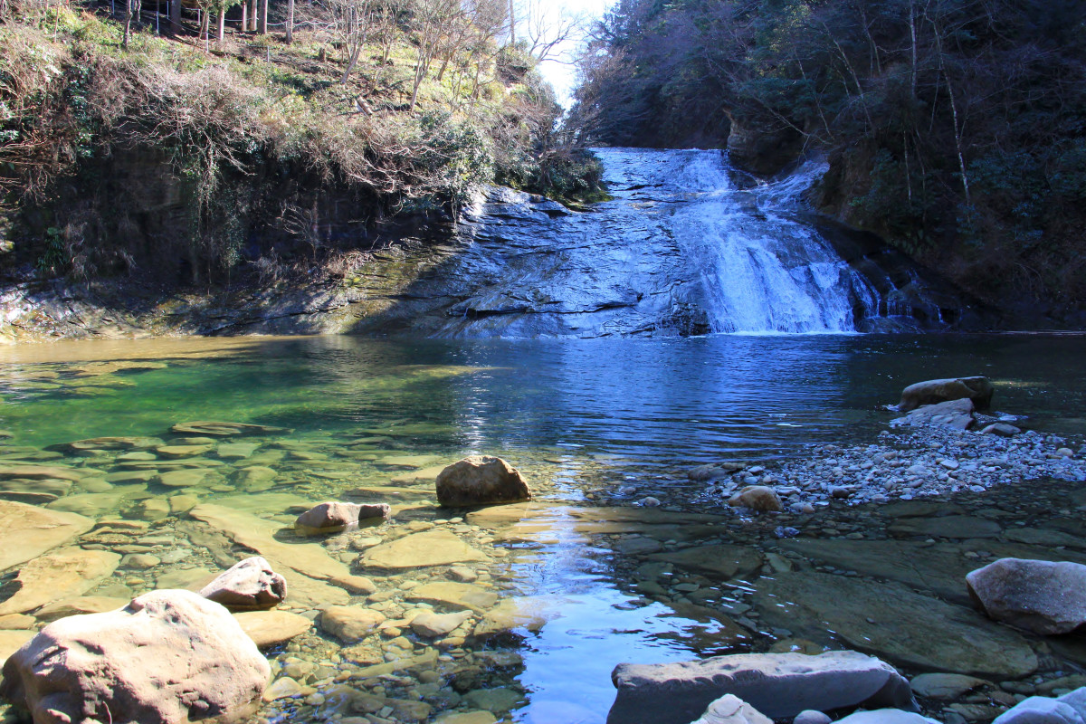 養老渓谷・粟又の滝(2020年2月)