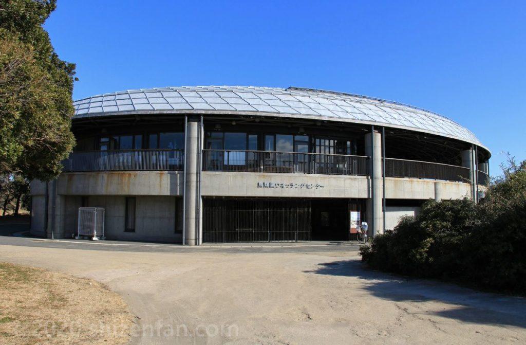 葛西臨海公園・鳥類園ウォッチングセンター外観