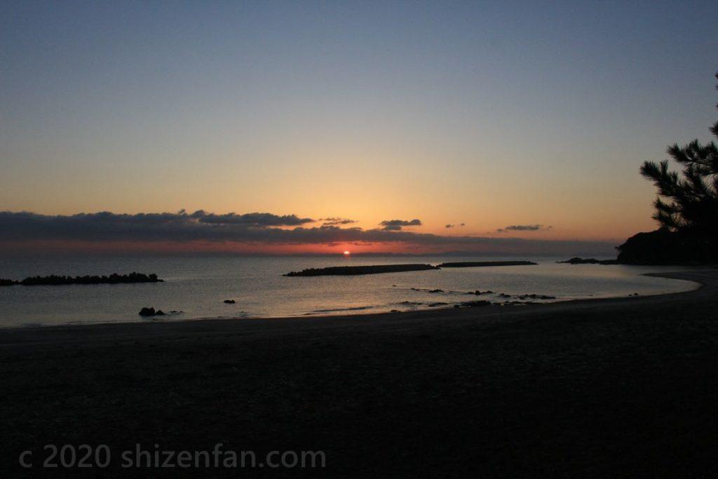 国東半島・黒津崎海岸(夜明け)
