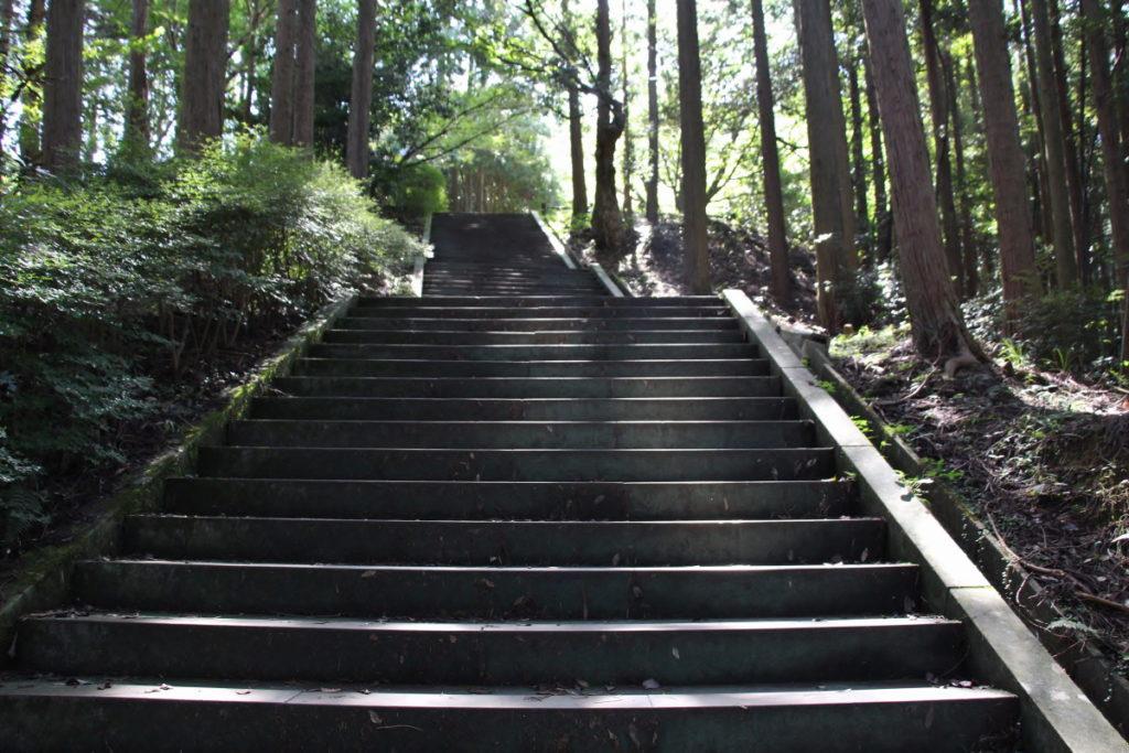 熊本県美里町・釈迦院御坂遊歩道(日本一の石段)