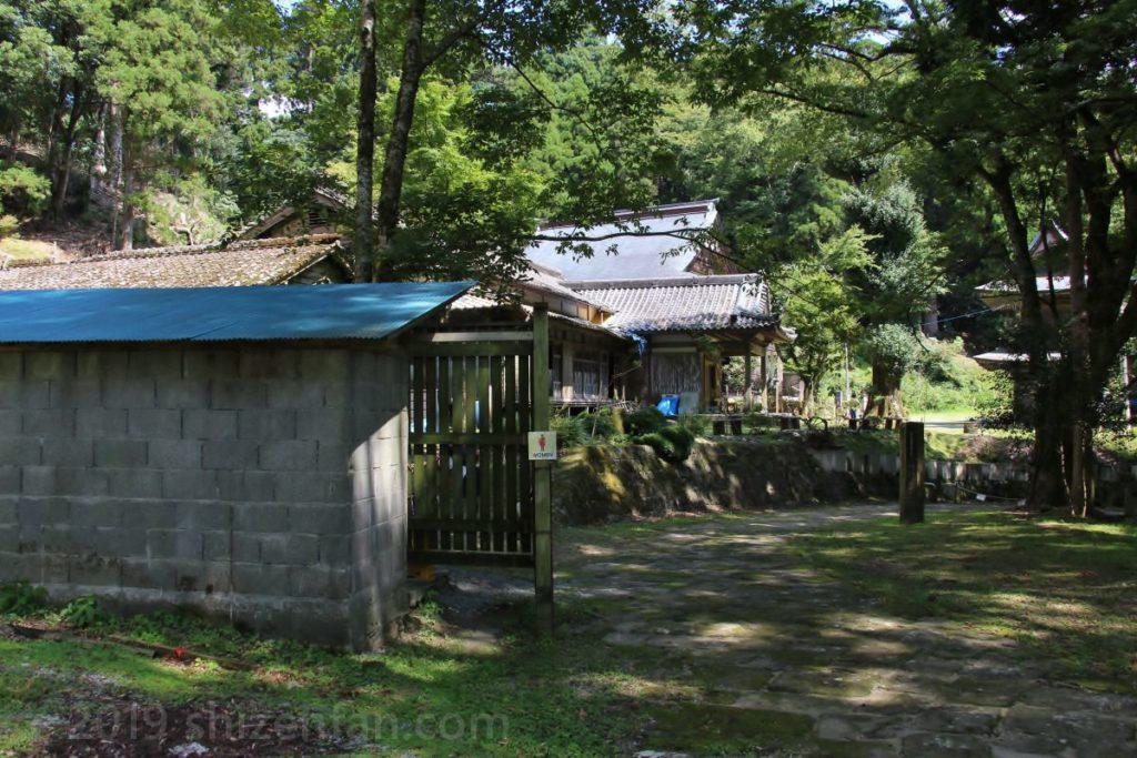 熊本県八代市・釈迦院の公衆トイレ