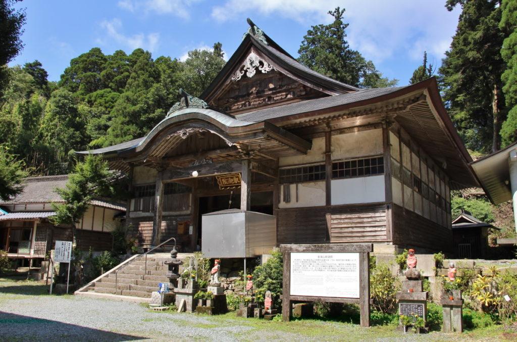 熊本県八代市・釈迦院本堂外観