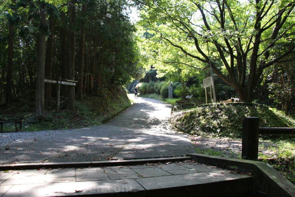 日本一の石段(釈迦院御坂遊歩道)800~900段の間の平坦パート