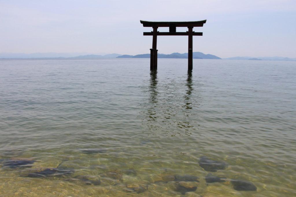 琵琶湖・白髭神社
