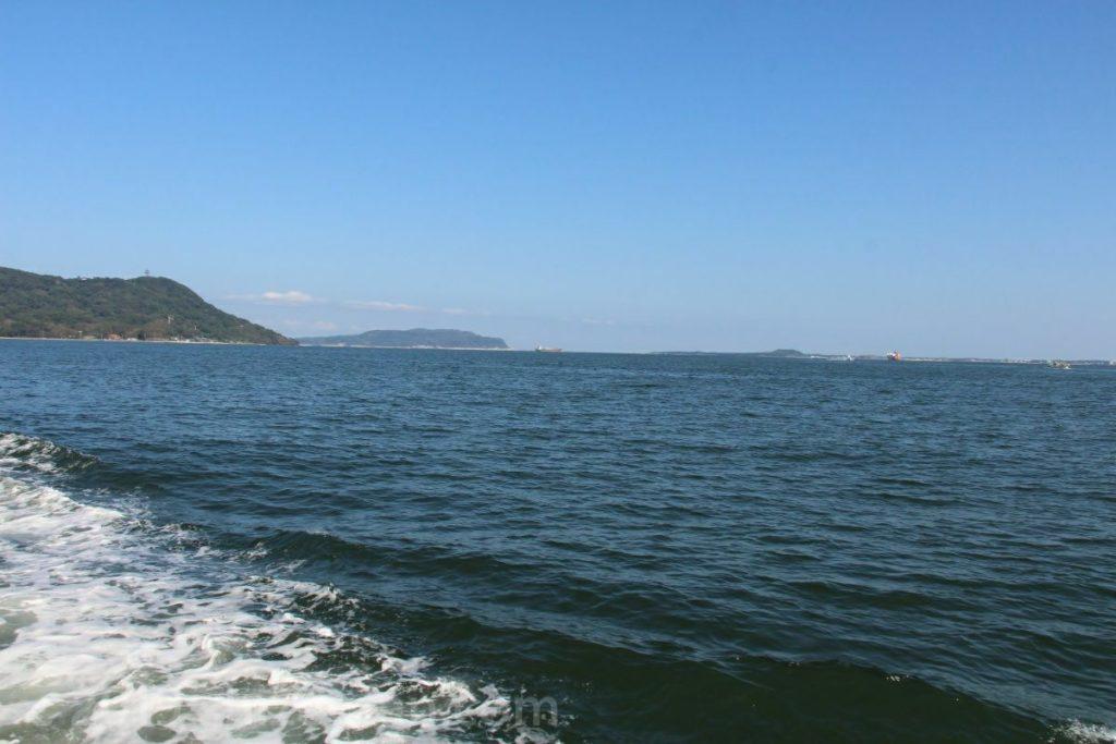 フラワーのこからの景色(能古島と志賀島)