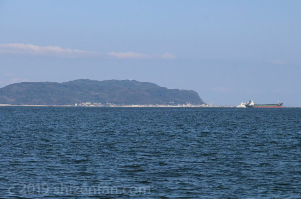 フラワーのこからの景色(志賀島)