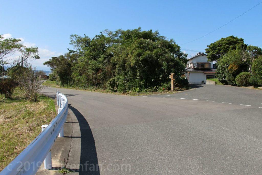 能古島 自然探勝路への道のり