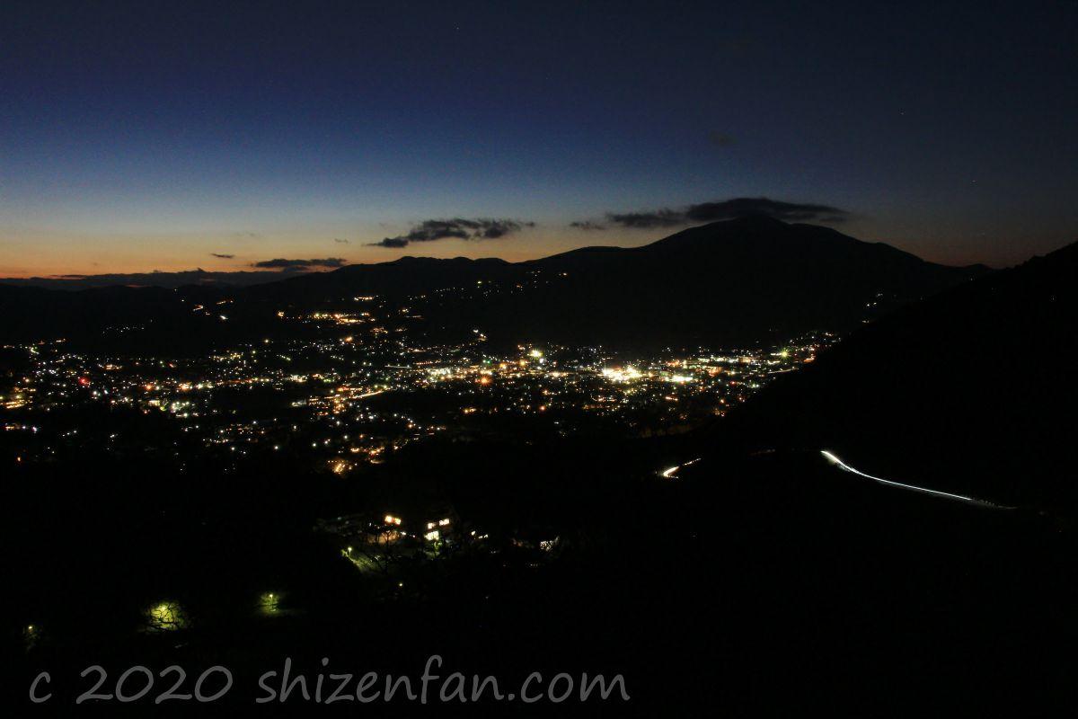 湯布院・狭霧台からの夜景