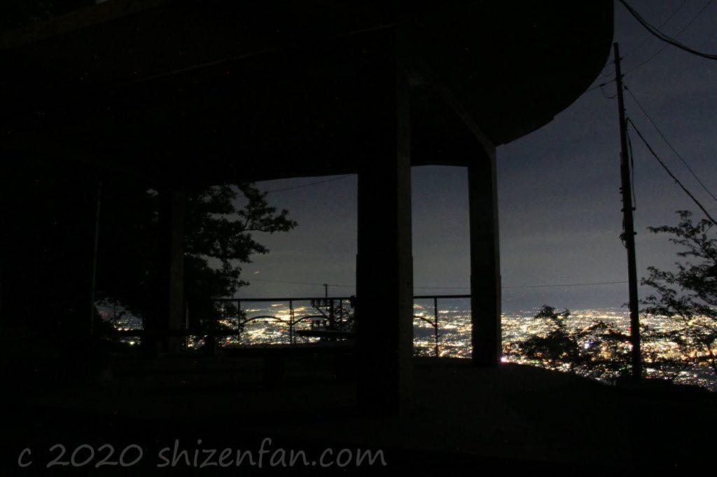 熊本・金峰山頂上からの夜景