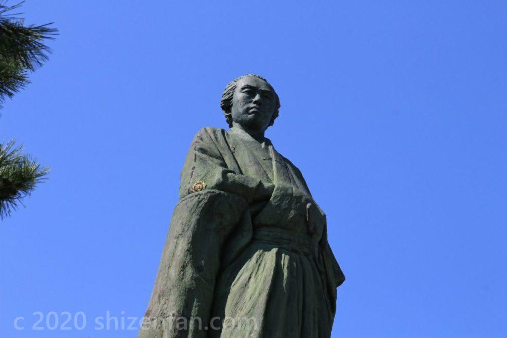 坂本龍馬銅像(桂浜公園)