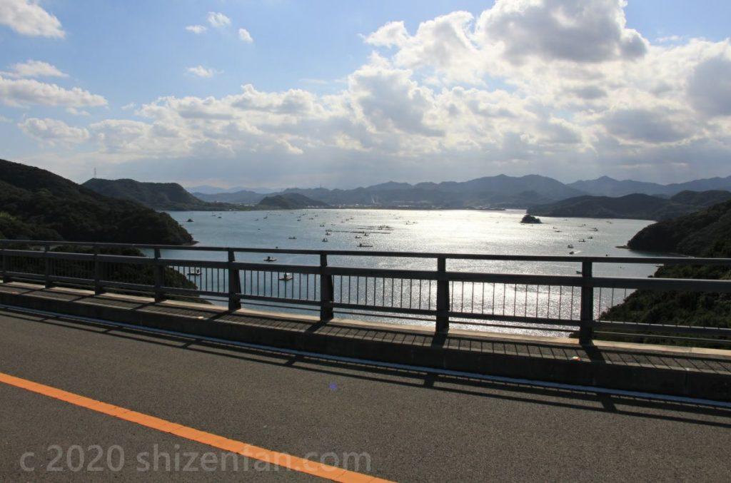 鳴門スカイライン・堀越海峡の眺め