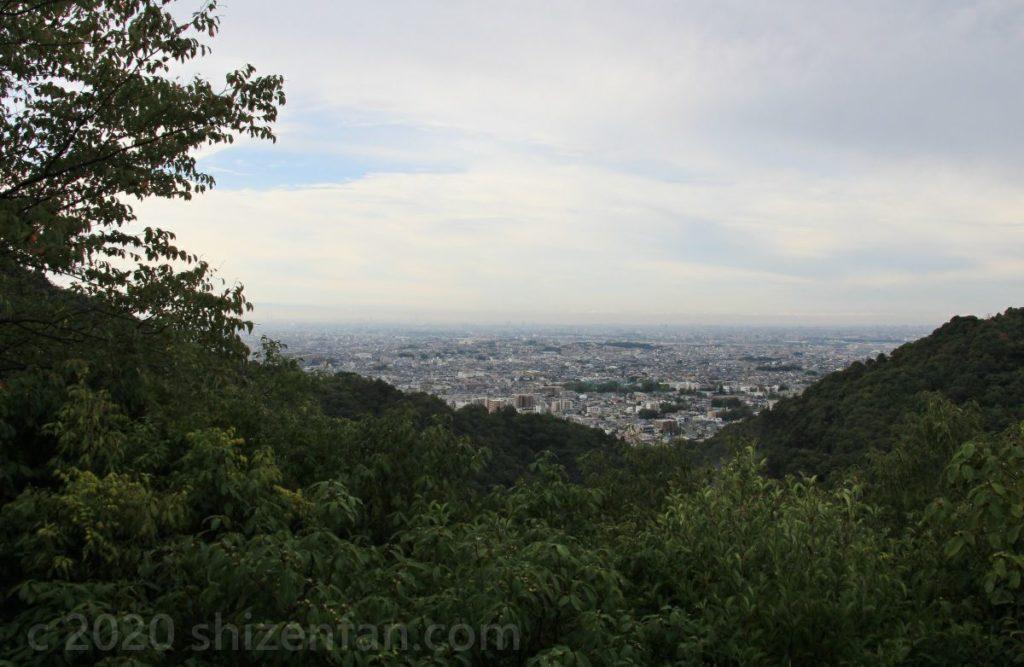 箕面の滝 望海丘展望台からの眺望