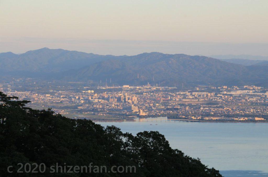 琵琶湖南部西岸