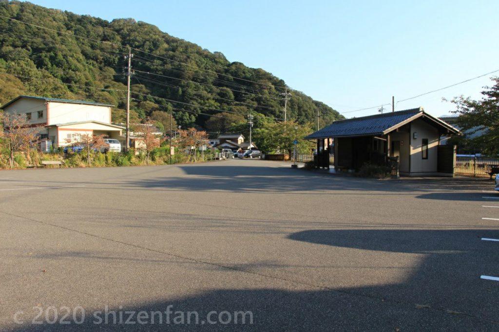 敦賀市・金ヶ崎城跡駐車場