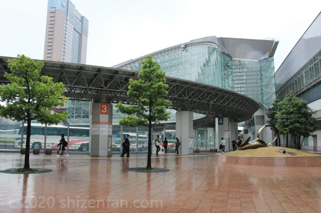 金沢駅側面外観(やかん側)