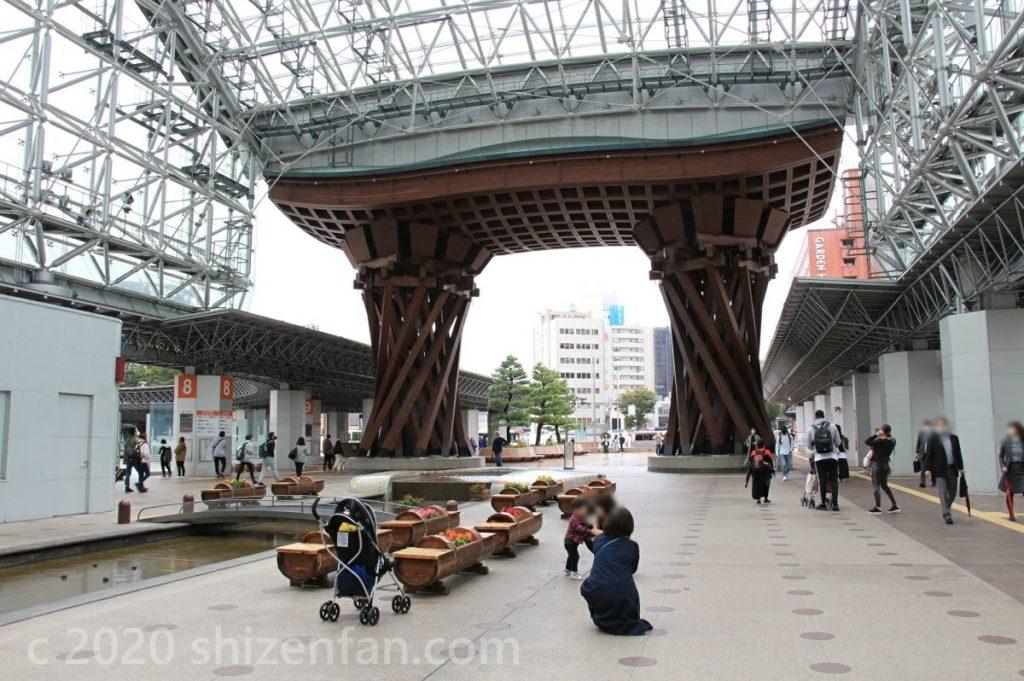 金沢駅・鼓門ともてなしドーム