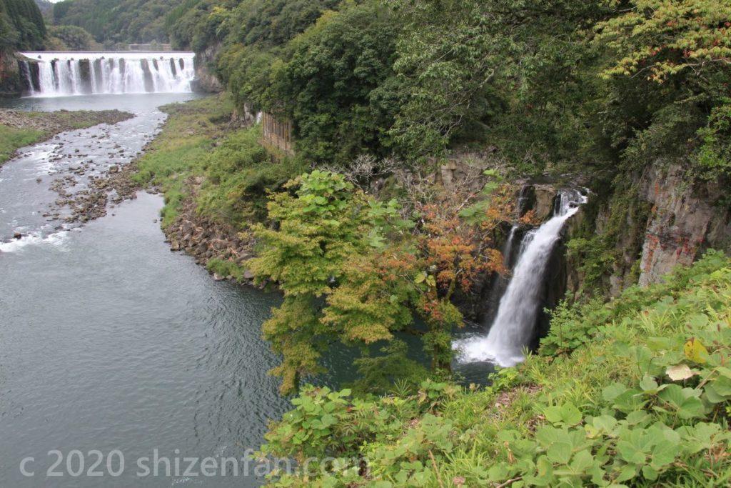 沈惰の滝・雌滝
