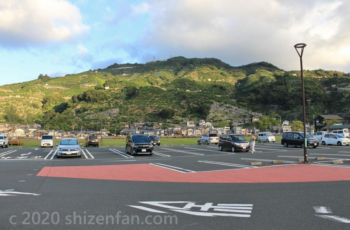 道の駅 八幡浜みなっとの駐車場