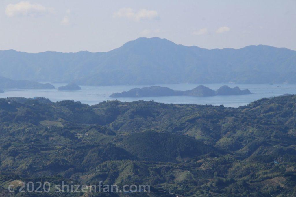 法華津峠からの宇和海の眺望