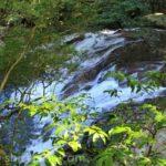 滑床渓谷の滝イメージ