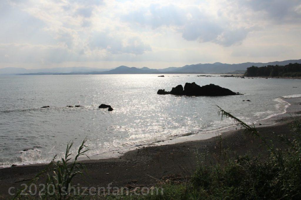 高知県黒潮町付近の海岸