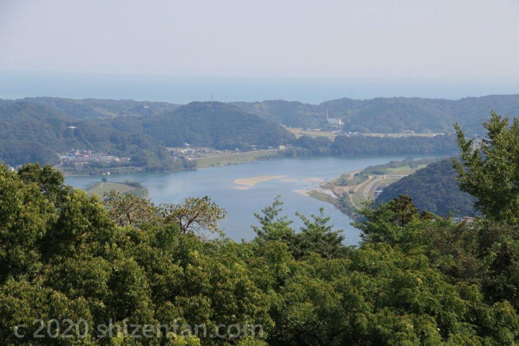 香山寺市民の森からの眺望
