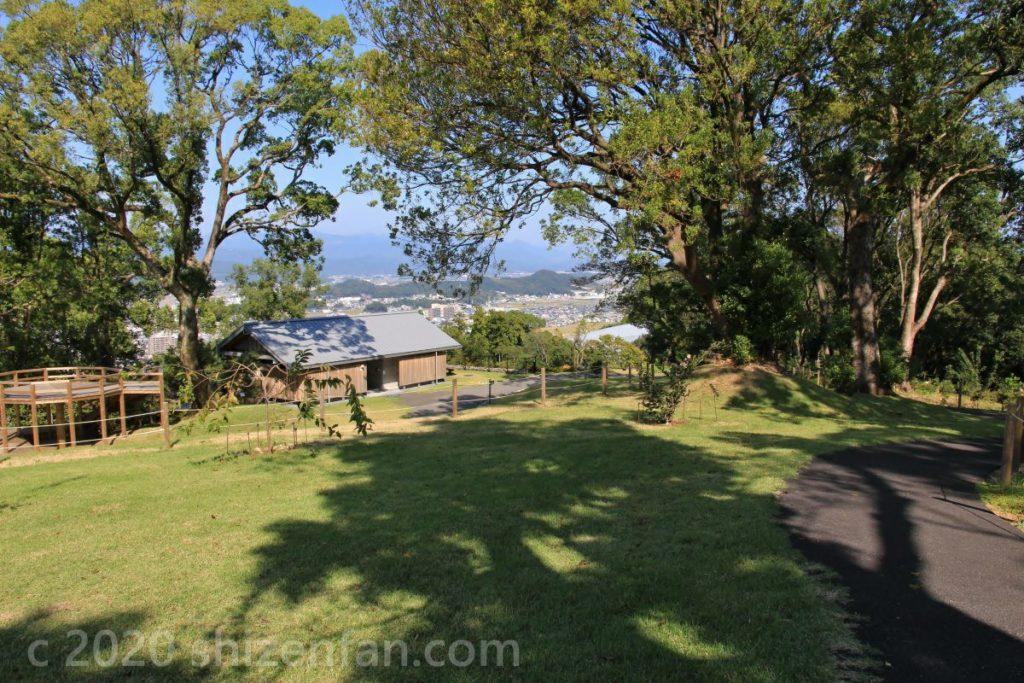 高知県立牧野植物園 園内の散策エリアの様子