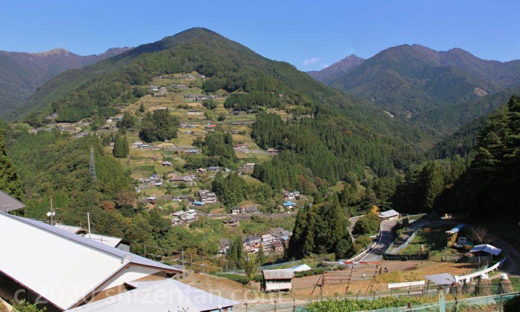 四国祖谷渓 落合伝統的建造物群保存地区