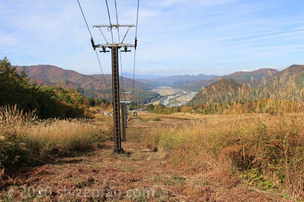 秋の会津高原南郷スキー場