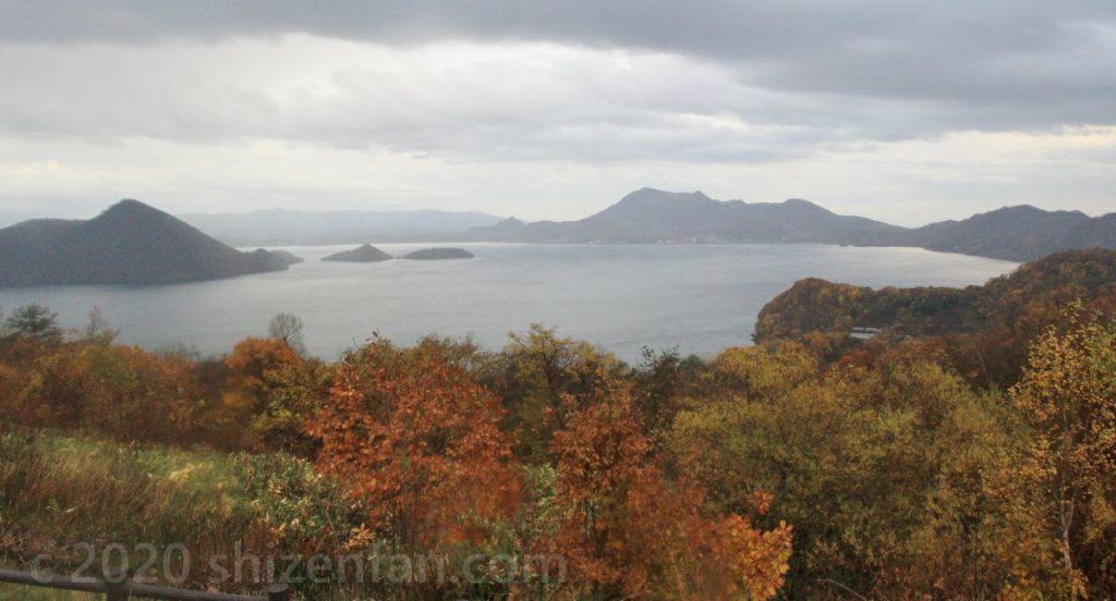 晩秋の洞爺湖(サイロ展望台)